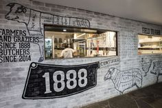 Estúdio Lorena Couto se inspira em:  açougue gourmet 1888 Certified   Morris Selvatico