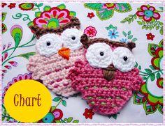 Genoveva Owl Crochet Pattern von wonderfulhands auf Etsy