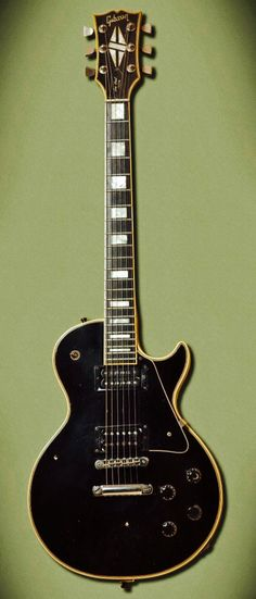 Mick Mars 1972 Custom Gibson Les Paul