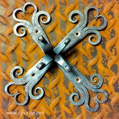 Hand forged hooks for handcrafted quilts. Support Handmade. www.facebook.com/CJForgeBlacksmith