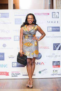 African Fashion Short Dress