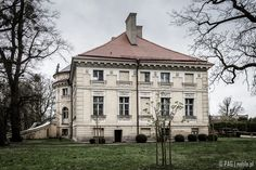 Late 18th century Neoclassical Lipski palace & park complex in Lewków, Greater Poland is currently housing a regional museum