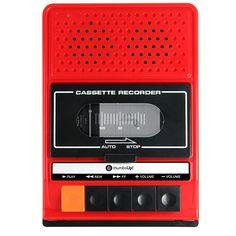 iRecorder Retro Cassette Player iPhone Speaker