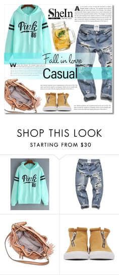 """""""Shein -hoodie-"""" by dolly-valkyrie ❤ liked on Polyvore featuring Moda Luxe, Diemme, Sheinside and shein"""
