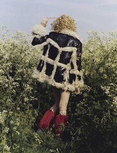 Stella Lucia for Vogue Italia August 2015 | The Fashionography