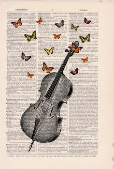 Butterfly collage Vintage Book Print Butterflies over cello collage Print on Vintage Dictionary art Collage Vintage libro imprimeur mariposas sobre collage por PRRINT Art Vintage, Collage Vintage, Collage Art, Vintage Books, Vintage Paper, Book Page Art, Book Art, Shotting Photo, Newspaper Art