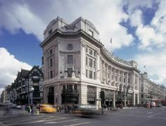 Regent Street: These unmissable offices are located right on the corner of the famous London road. #monopoly #regentstreet