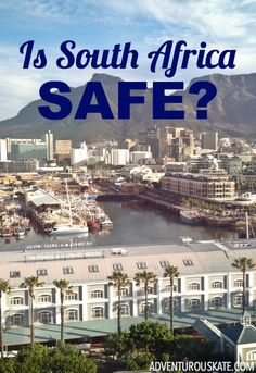Is South Africa safe?  Especially for women traveling alone?  That was a question that I had often wondered, that I continued to ponder while traveling, and that I mused long after returning home. The truth?  South Africa can absolutely be safe.  But you need to take precautions that you wouldn't take elsewhere.