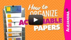 Now that you have gone through the papers what do you do? [VIDEO]: How to Organize Actionable Papers (Paper Organizing Tips Part 2 of Bill Organization, Home Office Organization, Organized Office, Organizing Tips, Organizing Your Home, Organizing Papers, Organising, Essential Oils Cleaning, Homekeeping