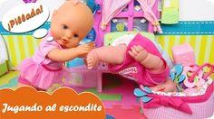Jugando al escondite en la guardería con bebés Nenucos Mundo Juguetes vídeos de muñecas en español - YouTube