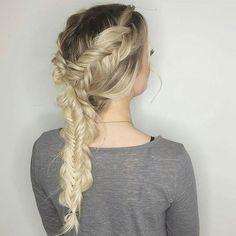 Heather is on the BRAID BAR again @hairbyhdeal - Always looking forward to | Fishtail Friday | . . . . . . . . .  @seasonssalonanddayspa  #hair #hairarrange #hairstyle #longhair #creative #loveit #hairdresser #bridefashion #inspiration #beauty #hairdesign #oremsalon #utahsalon #hairstylist #braidsfordays #braidlove #braidsbraidsbraids #fishtailbraid #fishtail #mermaidhair - #instabraid #instibraid @instibraid #braidsandbalayge #picoftheday #friday #braidsonbraids