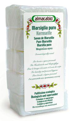 Mydło w kostce, (5 szt. x 100 g) - Almacabio