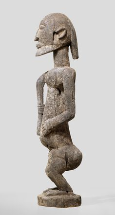 A male Dogon sculpture of the N´Doulerie region, probably from the viallage Kasa