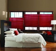 """Bali DiamondCell 3/8"""" Northern Lights Double Cell is a semi-opaque fabric which allows light to filter into the room."""