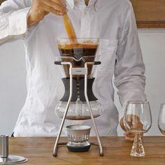 Ambachtelijke koffie maken