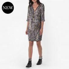 Robe imprimée léopard, Robes One Step