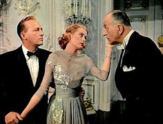 HIGH SOCIETY with Grace Kelly & Bing Crosby ~ This is a classic musical/romance movie from the 1950s.  I saw it then and it has remained with me always.  Love the song TRUE LOVE from this movie.