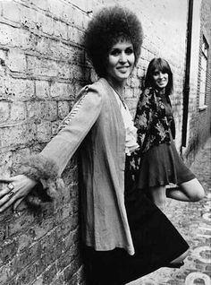 Julie Driscoll (of the band, Trinity), 1967.