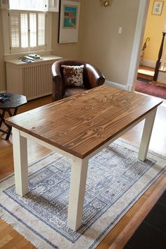 Emmor Works has a range of living room, kitchen, and conference room tables. Log Furniture, Outdoor Furniture, Dining Bench, Dining Room, Chair Design Wooden, Farmhouse Table, New Homes, Kitchen Tables, Early American