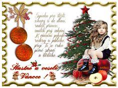 Vánoční přání « Rubrika | Blog u Květky Christmas Bulbs, Merry Christmas, Blog, Holiday Decor, Cards, Hana, Petra, Home Decor, Tips