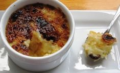 Coconut Rice Pudding Brulee