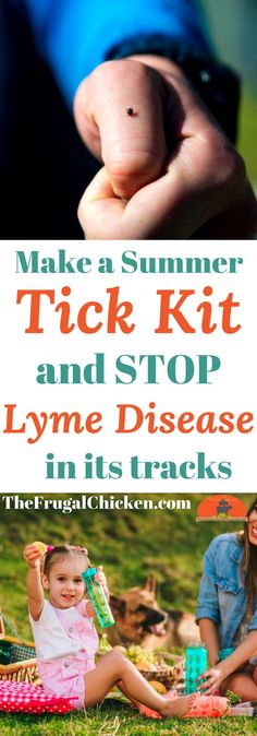 Nobody wants Lyme disease, and if you discover a tick on you, your kids, or your pets, you want to act fast. Here's how to make an all-natural tick kit you can keep in your home or car so you're prepared!.
