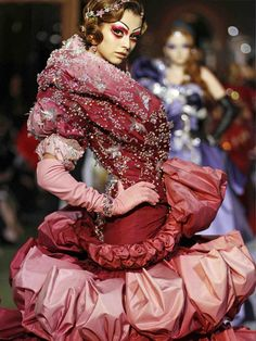 Christian Dior Haute Couture Fall/Winter 2007.