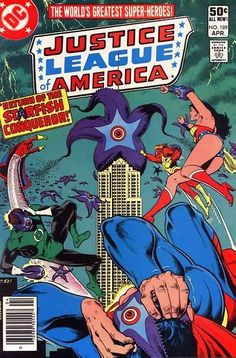 Justice League of America #189 DC Comics