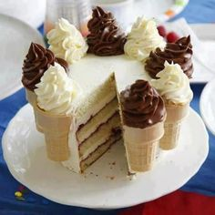IceCream Cone Cake