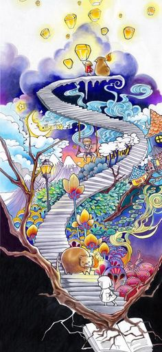 Congratulations to the winner of the 2013 Park Your Art contest: Cindy Chen! Her winning artwork was colored exclusively with Copic Sketch markers.