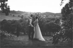 Chateau de Brametourte wedding Anna & Alex watch the sunset from the gardens above the orchard by Wild Connections Photography Anna, French Wedding, Destination Wedding, Wedding Inspiration, Gardens, Sunset, Watch, Couple Photos, Photography