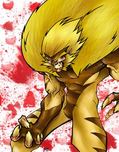 SABRETOOTH COLORED by ~Dreekzilla