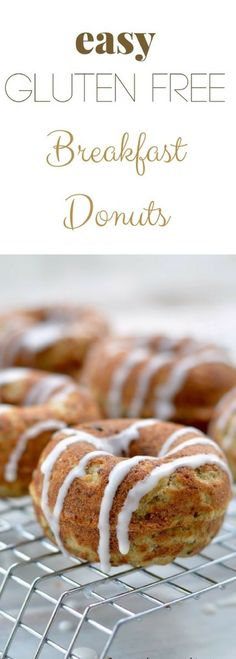 Yes you can have donuts for breakfast! These healthy delicious mini donuts are a nutritious easy breakfast or snack that kids love. Recipe at http://www.fearlessdining.com