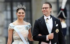 Sweden's Crown Princess Victoria and Sweden's Prince Daniel