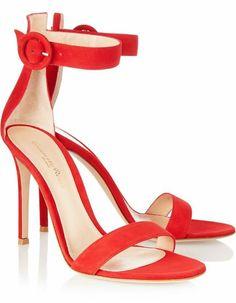 Zapato de color rojo :)