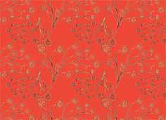 orange blossom abstract