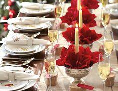 Christmas tablescape | Tablescapes