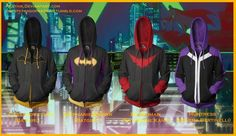 From the left! Batgirl/Black Bat (Cassandra Cain) Batgirl (Stephanie Brown) Batwoman (Katherine Kane) Huntress (Helena Bertinelli)* All concepts and just for. Batwoman, Batgirl, Stephanie Brown, Dc Comics, Anime Comics, The Flashpoint, Comic Clothes, Studios, Super Hero Outfits