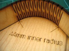 14mm long, 23 Link Hinge around 44mm Radius