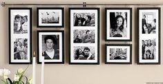 Everyone has a batch of family photos they're not sure what to do with. Cue our collection of ideas for cool ways to display those oft-overlooked prints. Whether you favour a classic monochrome look or fancy a fashion-forward Instagram wall, these 11 ideas couldn't be further from the cringy displays of old.