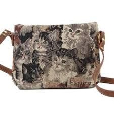Signare Womens Tapestry Fashion Shoulder Handbag Across Body Messenger Bag puppy