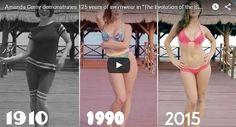 Mira la evolución del bikini en 125 años (VÍDEO) #YaPonteUpToDate