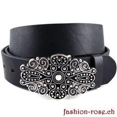 Sehr schöne Zierschnalle mit Ledergürtel passt in jede Garderobe Rind, Belt, Accessories, Fashion, Cloakroom Basin, Metal, Black, Nice Asses, Belts