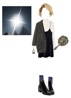 """""""How does Medusa look into a mirror?"""" by me-nunquam-titillandus ❤ liked on Polyvore featuring art"""