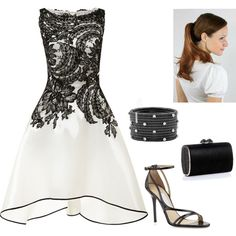 """#RobertoDemeglio #CeramicBracelet from #JRDunn in """"Untitled #1734"""" by injie-anis on Polyvore"""