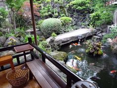 small but ridiculously beautiful Japanese garden viewed from a sweet veranda. If I feel incredibly ambitious...how lovely this would be...