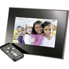 "Digital 7"" Insignia photo frame, $39.99 Best Buy"