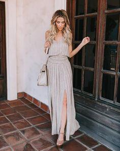 Boho Beauty Adjustable Maxi Dress