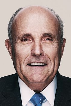 Rudy Giuliani. WHY are you not running for President?! I named my cat after you and everything!
