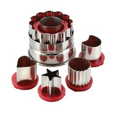 Cake Boss 6 Piece Classic Linzer Cookie Cutter Set  - Kitchenware http://www.roys.co.uk/